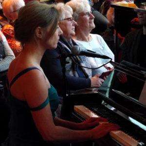 Muriel Kloek - de zangeres