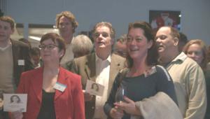 Teambuilding zingen Singing-queen Muriel Kloek